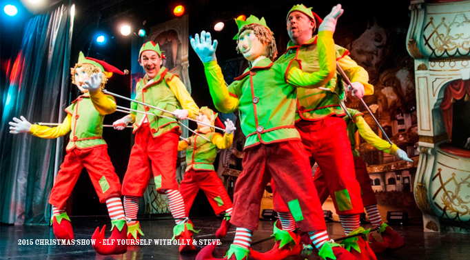 CHristmas Show, Cromer Pier, North Norfolk, Elf Yourself, Comedy Routine