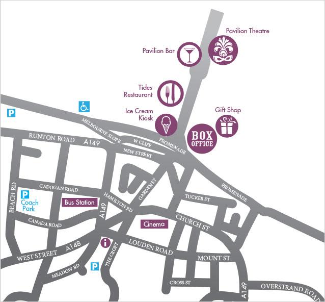 Norwich Car Parks Map