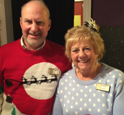 volunteers, christmas jumpers, fundraising, macmillan, norfolk