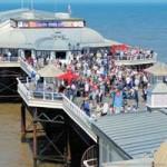 crowded pier ay