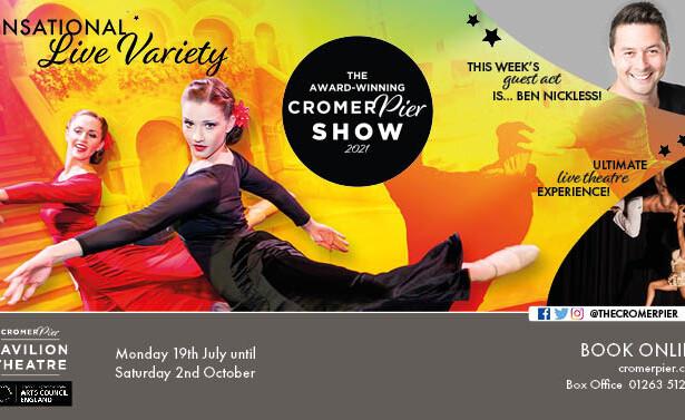 Ben Nickless Comedy Impressionist Cromer Pier Show