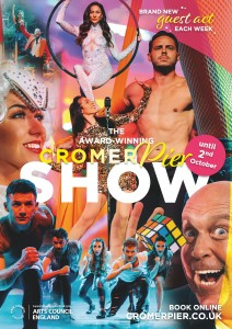 Cromer Pier Show 2021 Variety acts