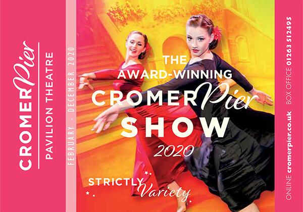 2020 what's on brochure  cromer pier